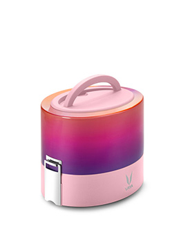 Ombre Pink Lunch box